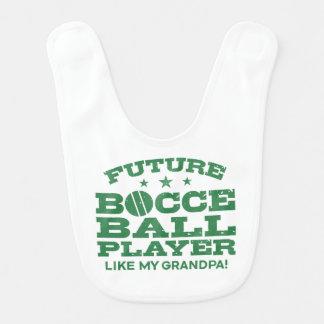 Future Bocce Ball Player Like My Grandpa Bib
