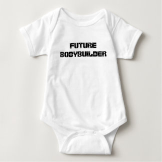 Future Bodybuilder baby tshirt