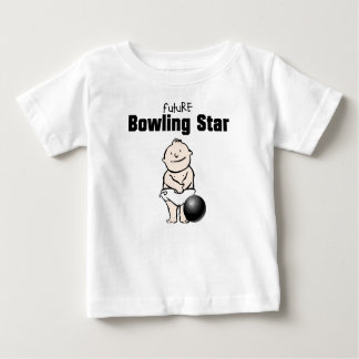 Future Bowling Star Baby Boy T-shirts