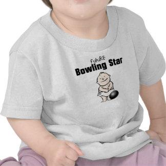 Future Bowling Star Baby Boy T-shirts