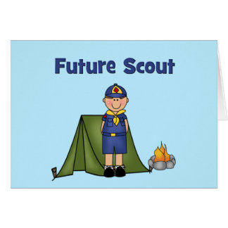 Future Boy Scout Greeting Card