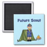 Future Boy Scout Refrigerator Magnet