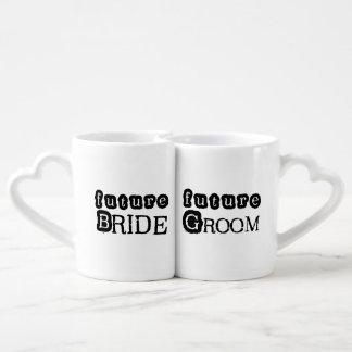 Future Bride and Groom Lovers Mugs