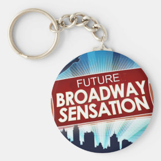 Future Broadway Sensation Key Ring