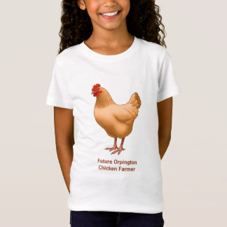 Future Buff Orpington Chicken Farmer T-Shirt