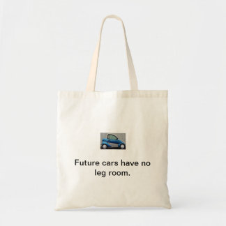 Future car LEG ROOM Budget Tote Bag