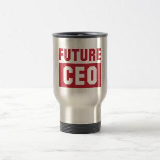Future CEO Chief Executive Officer Businessman Travel Mug