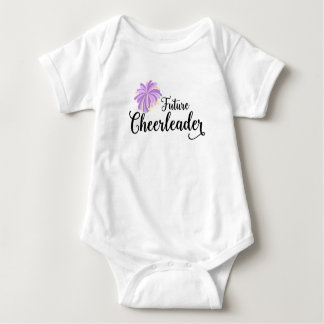 Future Cheerleader baby bodysuit