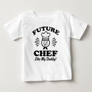Future Chef Like My Daddy Baby T-Shirt