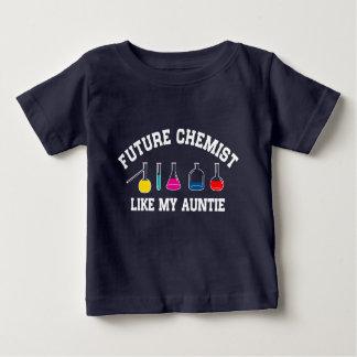 Future Chemist Like My Auntie Baby T-Shirt