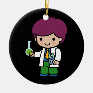 Future Chemist / Scientist Ceramic Ornament