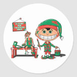 Future Christma Elf In Training Sticker