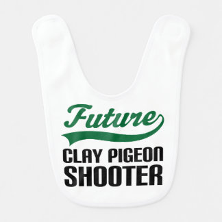 Future Clay Pigeon Shooter Baby Bib