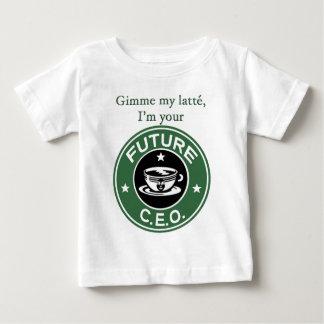 Future Coffee Chain CEO T-shirt