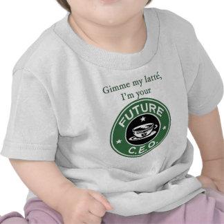 Future Coffee Chain CEO Tee Shirt