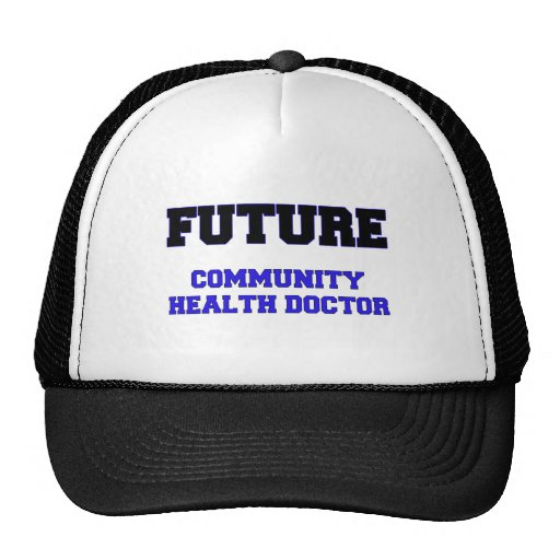 Future Community Health Doctor Mesh Hats