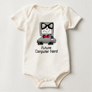 Future Computer Nerd Geek Shirt for Babies