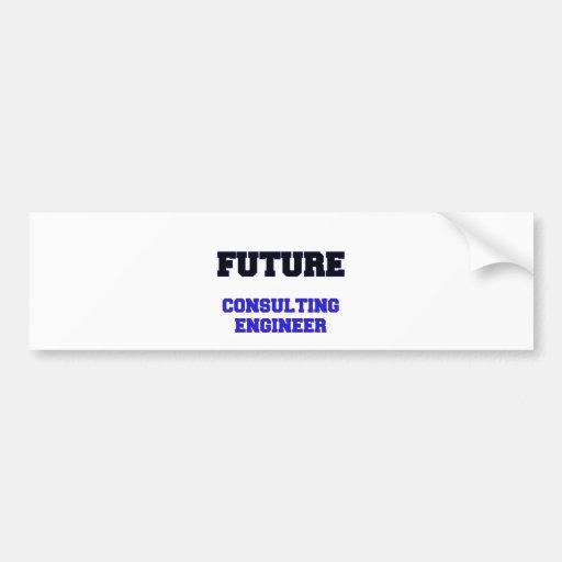 Future Consulting Engineer Bumper Sticker