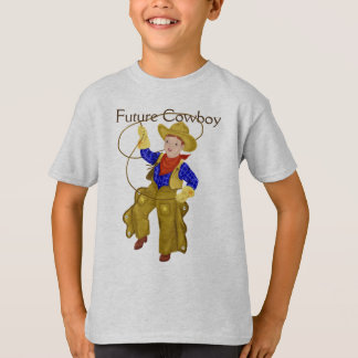 Future Cowboy with Little Vintage Cowboy T-Shirt