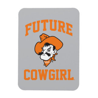 Future Cowgirl Rectangular Photo Magnet