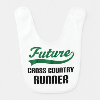 Future Cross Country Runner Baby Bib