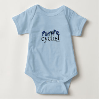 Future Cyclist - Blue Baby Bodysuit