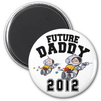 Future Daddy 2012 - Father To Be 6 Cm Round Magnet