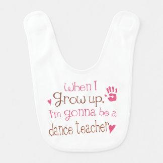 Future Dance Teacher Baby Bib