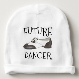 FUTURE DANCER Oxford Tap Shoe Dance Teacher Gift Baby Beanie