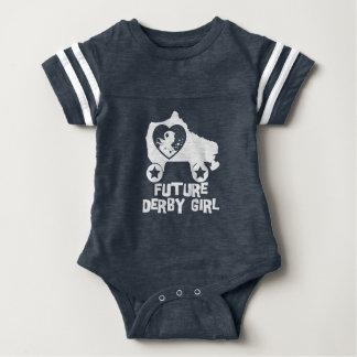 Future Derby Girl, Roller Skating design for Kids Baby Bodysuit