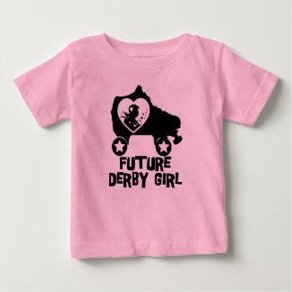 Future Derby Girl, Roller Skating design for Kids Baby T-Shirt