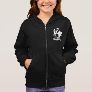 Future Derby Girl, Roller Skating design for Kids Hoodie