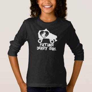 Future Derby Girl, Roller Skating design for Kids T-Shirt