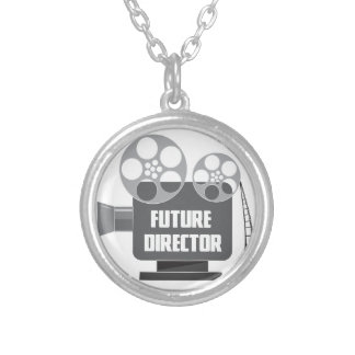 Future Director Silver Plated Necklace