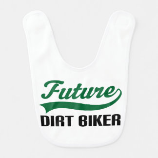 Future Dirt Biker Baby Bib