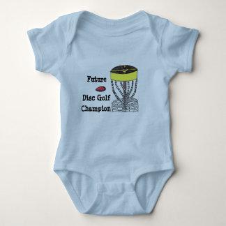 Future Disc Golf Champion baby onsie bodysuit