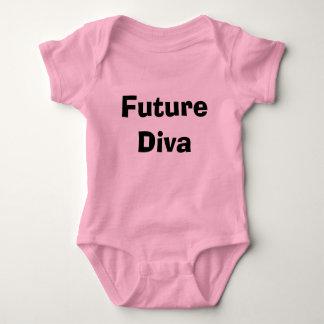 Future Diva Baby Bodysuit