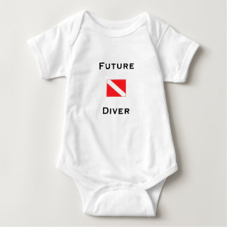Future Diver Baby Bodysuit