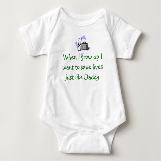 Future Doctor Baby Bodysuit