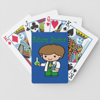 Future Doctor Bicycle Playing Cards