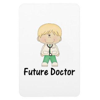 future doctor (boy) rectangular photo magnet