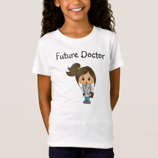 Future Doctor - Cute Doctor Female - Brunette T-Shirt