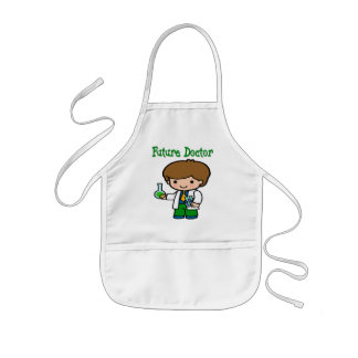 Future Doctor Kids Apron