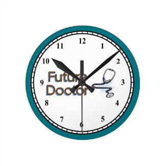 Future Doctor Round Clock