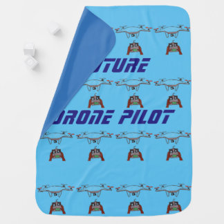 Future Drone Pilot baby blanket
