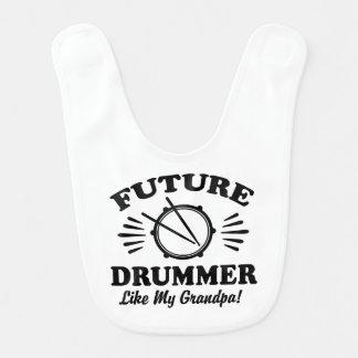 Future Drummer Like My Grandpa Bib