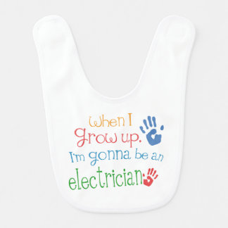 Future Electrician Baby Bib