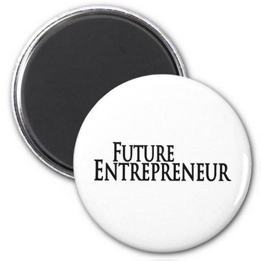 future entrepreneur refrigerator magnets