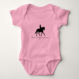 Future Equestrian Baby Bodysuit