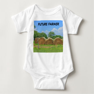 Future Farmer Infant Sleeper T-Shirt. Baby Bodysuit